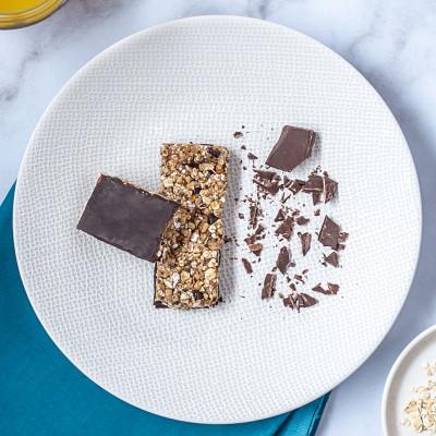 Lot de 4 barres Granola chocolat noisette