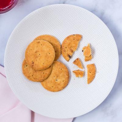 Lot de 4 sachets de 5 biscuits aux fruits rouges