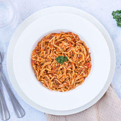 Spaghettini à la Bolognaise