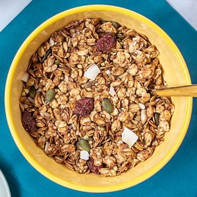 Sachet de 4 portions de granolas coco et cannelle