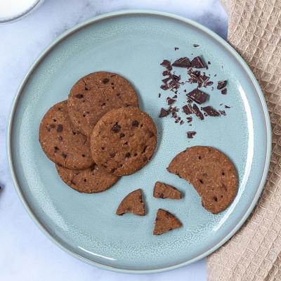 Lot de 4 sachets de 5 biscuits cacao pépites de chocolat