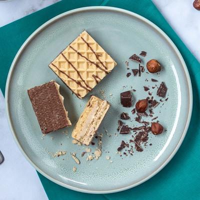 Gaufrette arôme chocolat noisette (lot de 2)