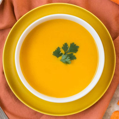 Brique de 4 portions de velouté de carottes à la crème