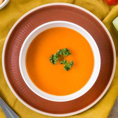 Brique de 4 portions de velouté de légumes et tomates